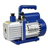Zeny 3,5CFM Single-Stage 5 Pa Rotary Vane Economy Vacuum Pump 3 CFM 1/4HP Air Conditioner...