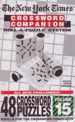 Cheap Hebbko The New York Times: Crossword Companion Roll-A-Puzzle Refills Volume 12 (B004AM9A82)
