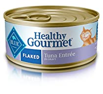 Blue Buffalo Flaked Tuna Wet Cat Food, 5.5 oz Can, Pack of 24