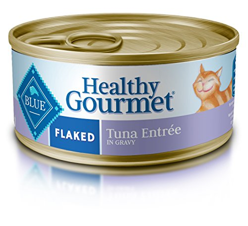 Blue Buffalo Flaked Tuna Wet Cat Food, 5.5 oz Can, Pack of 24 (Blue Buffalo Canned Cat compare prices)