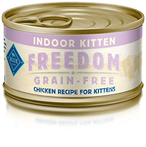 BLUE Buffalo Freedom Grain-Free Indoor Chicken Recipe For Kittens