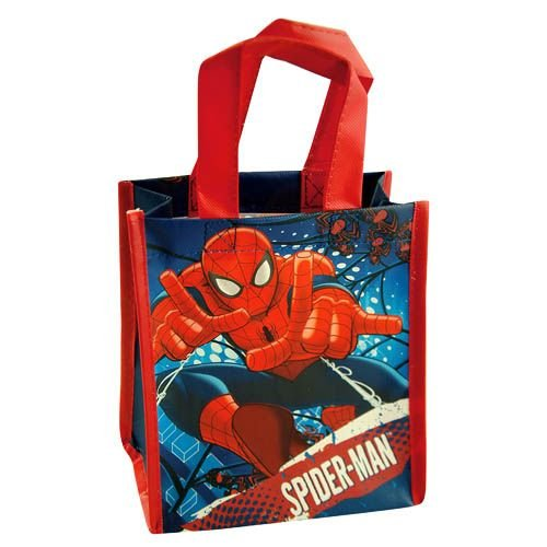 WeGlow International Amazing Spiderman Mini Non-Woven Tote Bag with Printing (Set of 2) - 1