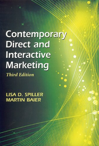 Contemporary Direct and Interactive Marketing (Third...