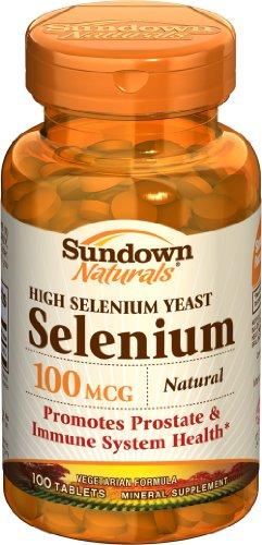 Sundown haute puissance naturelle de sélénium,
