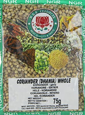 Ngr Koriander, ganz, 75g, 10er Pack (10 x 75 g Packung) von Ngr auf Gewürze Shop