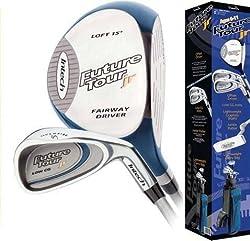 Future Tour Junior Golf Club Set Left Hand Youth Ages 6-11 Blue