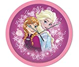 Disney Frozen Die Eiskönigin Elsa und Anna Wanduhr Kinderuhr