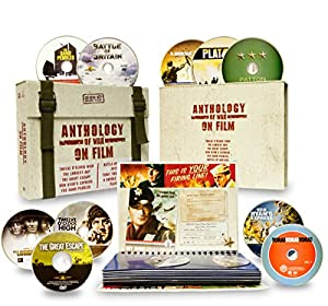 Anthology of War on Film (Twelve O'Clock High / The Longest Day / The Great Escape / Von Ryan's Express / The Sand Pebbles / Battle of Britain / Patton / Tora! Tora! Tora! / A Bridge Too Far / Platoon)