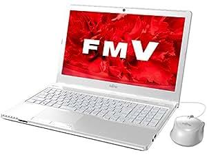 富士通 ノートパソコン FMV LIFEBOOK AH42/U アーバンホワイト(Office Home & Business Premium プラス Office 365) FMVA42UW