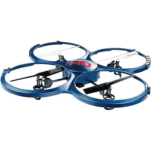 UDI A-U818A-1 - Drone Discovery radiocomandato, con videocamera HD, 2,4 GHz