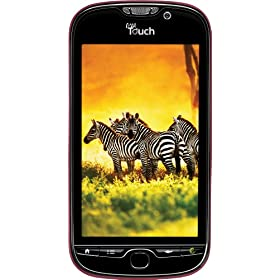 T-Mobile myTouch 4G Android Phone, Red (T-Mobile)