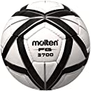 Molten FG3700 Soccer Ball (NFHS Approved), Black/Silver, Size 4