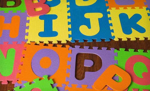 Great MOTA Alphabet ABC Floor Play Mat For Ages 2+ (Puzzle Tile Mat)