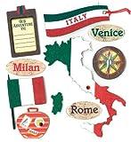 K&Company Italian Destination Grand Adhesions Stickers