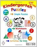 img - for Kindergarten Puzzles - Level 1: Simple Puzzles, Worksheets, And Activities For Kids book / textbook / text book