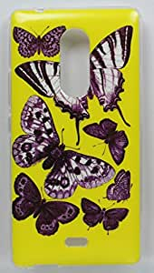FCS Designer Silicon Back Case for Micromax Canvas Selfie 4 Q349 With Printed Design