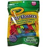 Butler Gum Crayola Dental Flossers For Kids - 40 Ea