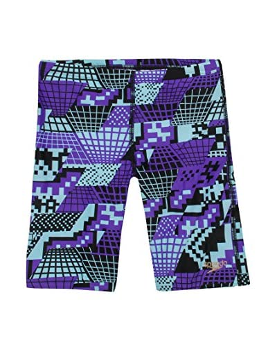 Speedo Shorts da Bagno Alv Jam Jm Junior [Nero/Viola]