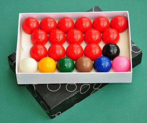 nanook Sport Snooker Kugeln Set 52,4 mm hochglanzpoliert