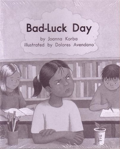 Bad-Luck Day; Leveled Literacy Intervention My Take-Home 6 Pak Books (Book 109 Level J, Fiction) Green System, Grade 1 PDF