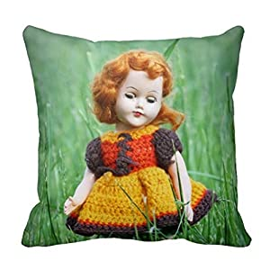 Amazon Com Beautiful Antique Doll With Old Crochet Dress
