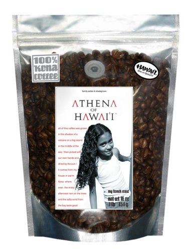 Farm-Direct: 100% Kona Coffee, French Roast, Whole Beans, 1 Lb.