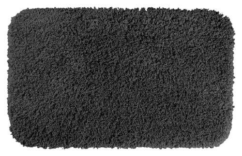 Garland Rug Serendipity Shaggy Washable Nylon Rug, 24-Inch By 40-Inch, Dark Gray front-818877