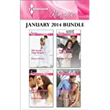 Harlequin Romance January 2014 Bundle: The Greek's Tiny Miracle\The Man Behind the Mask\English Girl in New York...
