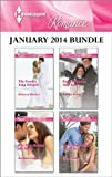 img - for Harlequin Romance January 2014 Bundle: The Greek's Tiny Miracle\The Man Behind the Mask\English Girl in New York\The Final Falcon Says I Do book / textbook / text book