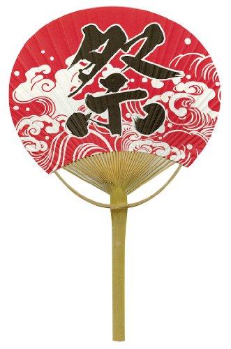 四国団扇 赤地祭