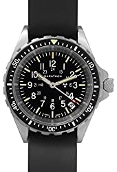 MARATHON WW194027 Swiss Made Military Issue Milspec Diver's Quartz Medium Watch with Tritium Illumination