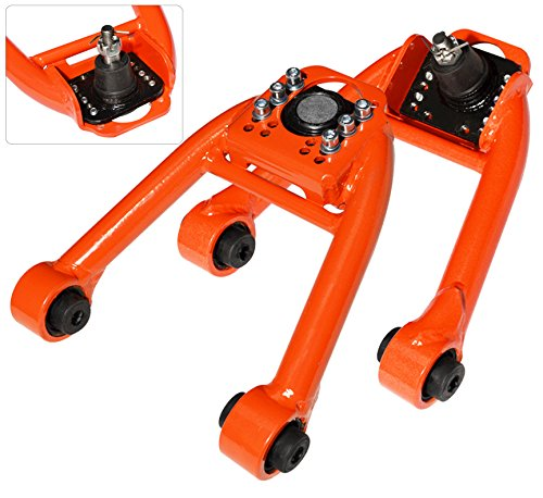 Jdm Tubular Adjustable Front Upper Camber Kit Orange For Honda Civic Ek (Honda Civic 2000 Camber Kit compare prices)