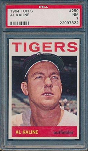 1964 Topps #250 Al Kaline Detroit Tigers PSA 7 NM 36747