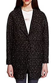Jacquard Textured Coat with Wool [T69-1604J-S]
