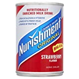 Dunns River Nurishment Original Big Can Strawberry Flavour 12 x 400gram