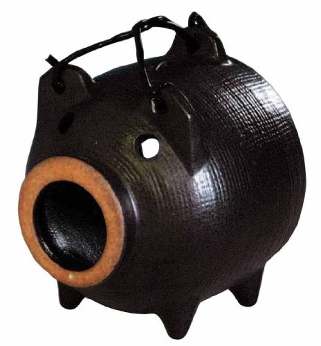 m69-7867-mini-mosquito-spear-pig-black-glaze-japan-import
