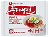 Nongshim Doong Ji Cold Noodles in Chili Sauce, 5.71-Ounce Bags (Pack of 20)