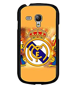 printtech FC Football Team Back Case Cover for Samsung Galaxy S3 Mini::Samsung Galaxy S3 Mini i8190