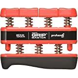Gripmaster Hand Exerciser Red, Medium Tension (7-Pounds per Finger)