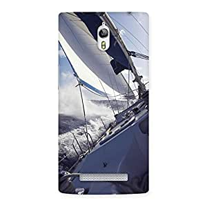 Delighted Floating Boat Back Case Cover for Oppo Find 7