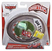 Disney/Pixar Cars Micro Drifters Race Team Fillmore, Ramone and Cruisin' Lightning McQueen, 3-Pack