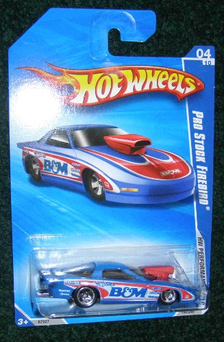 2010 HW PERFORMANCE B&M BLUE WHITE AND RED 04 OF 10 PRO STOCK FIREBIRD - 1