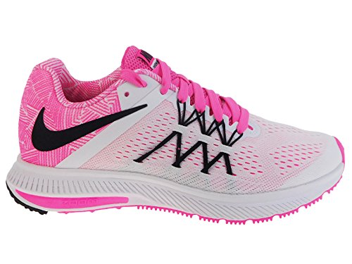 Nike-Womens-Zoom-Winflo-3-Premium-Running-Shoes-Sneakers-WhitePinkBlack-8-BM-US