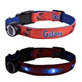 NCAA Florida Gators LED Light Up Dog Collar, Large/15-20-Inch at Amazon.com