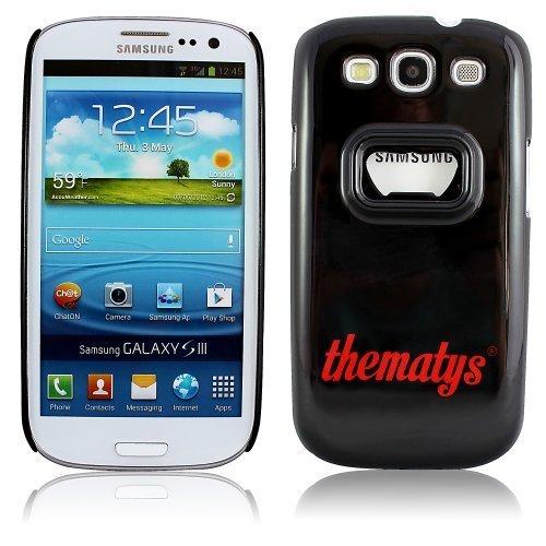 Samsung Galaxy S3 i9300 i9305 LTE Original thematys® FLASCHENÖFFNER Bier Design Case Schutz-Hülle Cover Schale Etui handyhülle thematys®