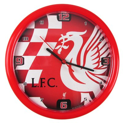 Official Liverpool FC Wall Clock - A Great Christmas, Birthday, Valentine, Anniversary Gift For Husbands, Fathers, Sons, Boyfriends, Friends and Any Avid Liverpool Football Club Fan Supporter