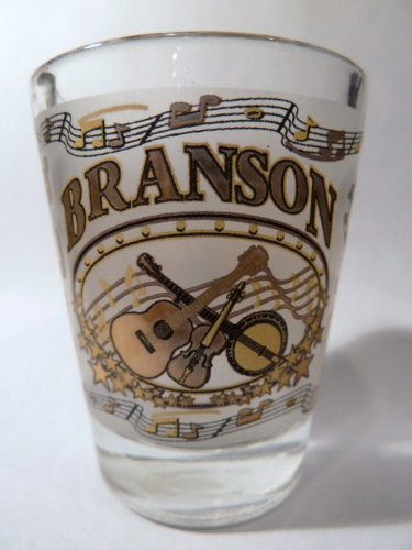 Branson Missouri Country Music Shot Glass