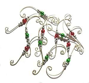 Kitchen And Bath Magazine Amazon.com - Beaded Ornament Hangers Decorative Holiday ...