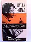 Miscellany: No.1 (Aldine Paperbacks) (0460020137) by Thomas, Dylan