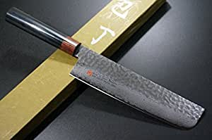 seto japanese chef knives damascus forged steel from world famous seki japan i 6. Black Bedroom Furniture Sets. Home Design Ideas